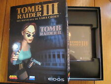 Tomb Raider III Les aventures de Lara Croft / Jeu PC BIG BOX / Sans notice