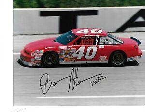 Autographed Ben Hess NASCAR Auto Racing Photograph