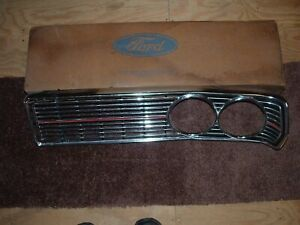 NOS 1968 Ford Galaxie 500 Custom 500 Ranch Wagon LH Radiator Grille #C8AZ-8151-A