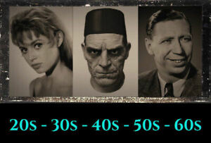VHS videos from £1.50 each - B&W classics - all genres - 20s-30s-40s-50s-60s