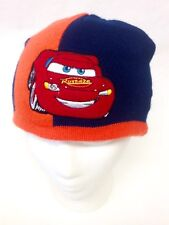 c56f810918689 Disney Pixar CARS Lightning McQueen Kids Youth Beanie Knit Hat Cap Skullcap