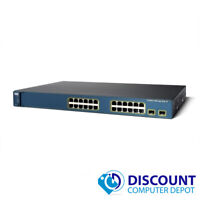 Cisco WS-C3560-24PS-S Catalyst 24-Port 10/100 Fast Ethernet Network Switch