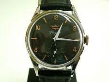 VTG 60s, LONGINES FLAGSHIP, SWISS WATCH, GENTS BLACK DIAL, ST-ST- MANUAL WINDING