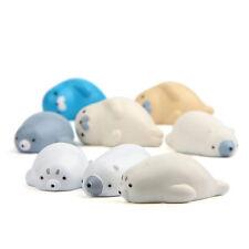 Cute Resin Sea lion seals Fridge Sticker Cartoon Magnetic Stickers For Home Dec