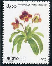 TIMBRE MONACO N° 1711  ** OSAKA 90 / EXPOSITION FLORAL / FLORE / PAPHIOPEDILUM