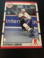 Stephan Lebeau   Canadiens 1990-1991 Score #262