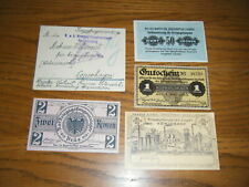 Ww1 Pow Camp Money & Envelope - German Camps for /Brit/Can/French Officers