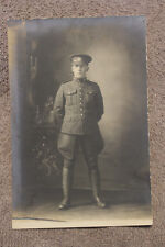 Original Ww1 British/Canadian Army Soldier's Studio Photograph