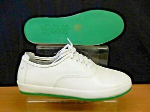 Nicholas Deakins Leather Shoe White
