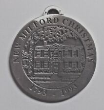 Elijah Boardman House New Milford Historical Society Pewter Medallion