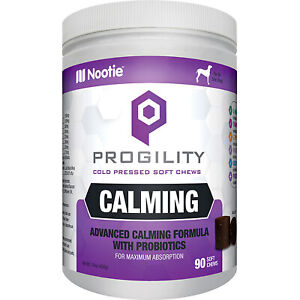 NOOTIE DOG PROGILITY MAX CALM MELATONIN 90 COUNT   Free Shipping