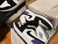 *NEW* Nike Air Jordan 1 Mid SE Purple Men 9-10-11-12 Some .5's