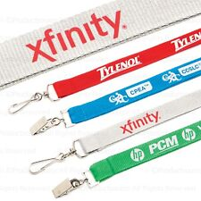 "100 Custom Printed 5/8"" High Quality Polyester Lanyards with Your Logo / Message"