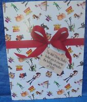 1995 Walt Disney Pictures Totally Toy Story El Capitan Theater Promo Folder VTG