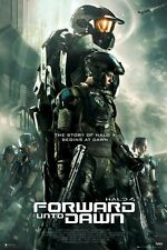 "HALO 4 POSTER ""FORWARD INTO DAWN"" LICENSED ""BRAND NEW"""