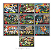 MARS ATTACKS TOPPS HERITAGE SILVER PARALLEL COMPLETE SET (55)