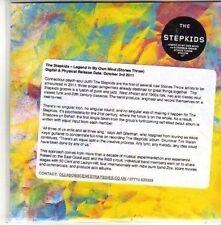 (CH386) The Stepkids, Legend In My Own Mind - 2011 DJ CD