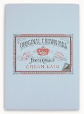 Crown Mill Luxury A5 Writing Paper Pad 50 Sheets BLUE