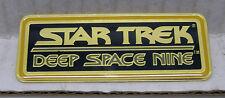 Star Trek DS9 Name Plaque Cloisonne Pin-Vintage (TRK-1013)