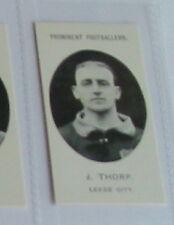 J Thorp - Leeds City Football soccer card