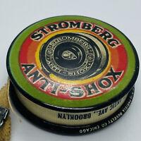 STROMBERG Tire Co. Antique (1910s) Celluloid Advertisement Tape Measure