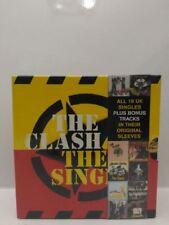 "THE CLASH - THE SINGLES 77-85 BOX 7"" SINGLE VINYL NEW VINILE"