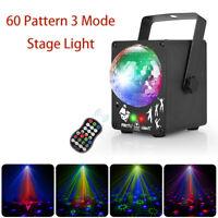 Projektor Licht LED 3 Modus Fernbedienung Stage Licht Ktv Party Urlaub Konzert