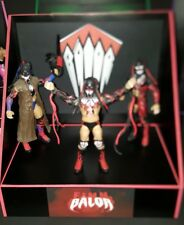 wwe custom made Finn Balor display stand for wrestling figures. No fig included