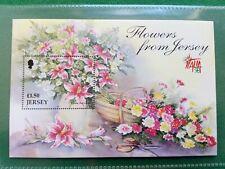 JERSEY -  1998 £1.50 flowers from Jersey, mini sheet mnh
