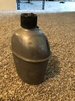 WW2 US Army USMC M1942 Steel Canteen Dated 1944