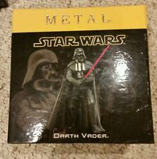 Star Wars ATTAKUS METAL DARTH VADER PEWTER Figure Limited Edition
