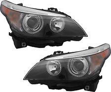 HID Headlights Headlamps NEW Pair Set for 04-07 BMW 525i 525xi 530i 545i 550i