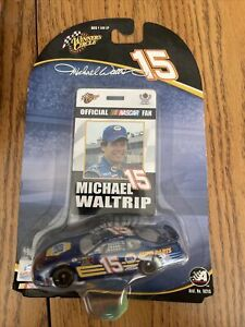 """Winners Circle 1/64 NASCAR - #15 Michael Waltrip """"Pit Card Included"""" - 2004"""