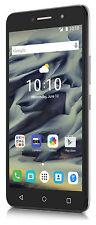 Alcatel Pixi 4 16GB Unlocked GSM 4G LTE Quad-Core Phone w/ 8 MP Camera - Silver