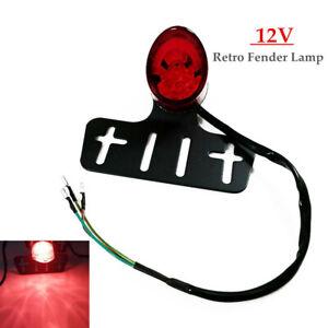 1PC 12V Motorcycle Retro Fender Lamp LED Brake Stop Rear Tail Turn Light Durable