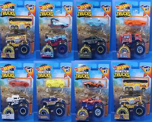 Mattel Hot Wheels / MonsterTrucks  Serie Doppel Pack  / Auswahl an Cars
