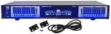Rockville REQ20 19 Rack Mount Pro Dual 10 Band Graphic Equalizer EQ w/VU Meters