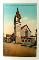 Berkeley California First Presbyterian Church Vintage Postcard