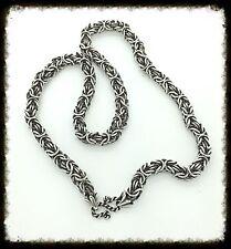 Handmade Byzantine Silver Chain, SOA Rock Biker Hippie Hipster