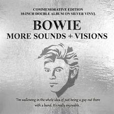 "David Bowie - More Sounds + Visions - Silver Vinyl 10"" X 2"