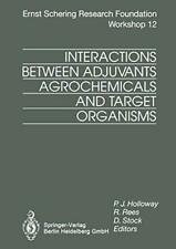 Interactions Between Adjuvants, Agrochemicals a, Holloway, P.J.,,