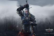 Poster A3 Poster The Witcher 3 Wild Hunt Geralt De Rivia 03
