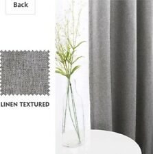 Lazzzy French Door Panel Curtains Patio Door Curtain Panel Blackout Curtains
