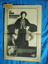 Jimi Hendrix Experience Rare Lg. 11X17 1968 Electric Lady Lp Promo Ad Poster