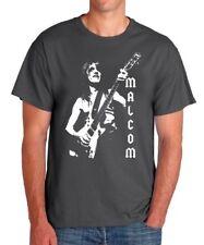 Camiseta hombre MALCOM YOUNG AC/DC men T shirt hard rock heavy acdc