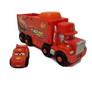 Fisher Price Disney Pixar Cars Little Wheelies Lightning McQueen & Mack Truck