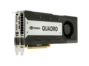 PNY Nvidia Quadro K6000 12GB GDDR5 PCIe 3.0 x16 Video Graphics Card VCQK6000-PB