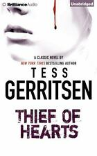 THIEF OF HEARTS unabridged audio book on CD by TESS GERRITSEN - Brand New!