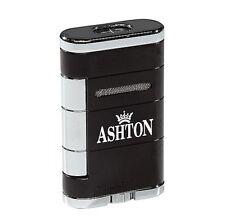 Xikar Allume Double Torch Lighter Tuxedo Black ASHTON LOGO! SALE SAVE 71%! 533BK