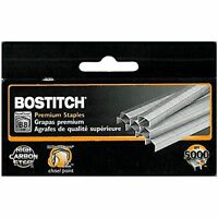 """Lot of 25 New Boxes Stanley-Bostitch B8 Staples 1/4"""" 5,000 per box,125,000 total"""